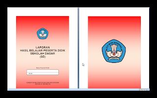 Buku Raport SD/MI Kelas II Kurikulum 2013