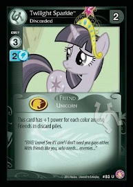 My Little Pony Twilight Sparkle, Discorded Absolute Discord CCG Card