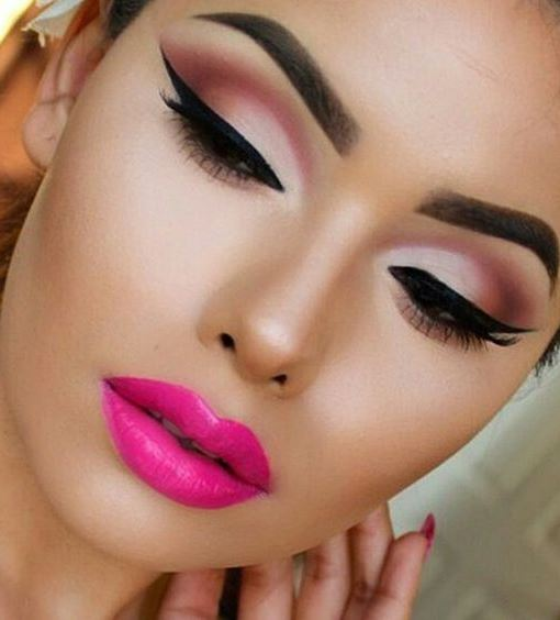 pink makeup inspiration idea