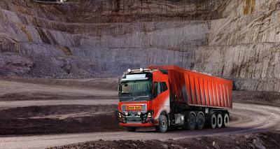 Caminhões Volvo autônomos começam a operar na Noruega