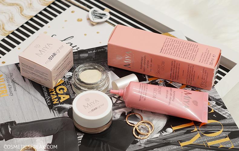 Rozświetlacze mySTARlighter i krem all-in-one Secret GLOW - nowości w ofercie Miya Cosmetics