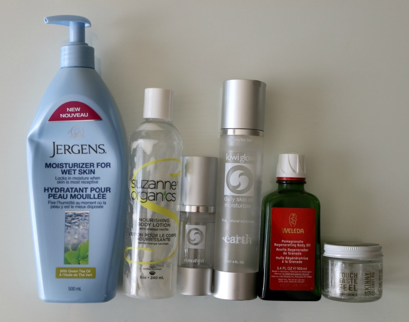 Summer 2017 Empties Body Care