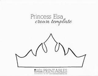 Tiara-foami-Ana-Elsa-Frozen-template