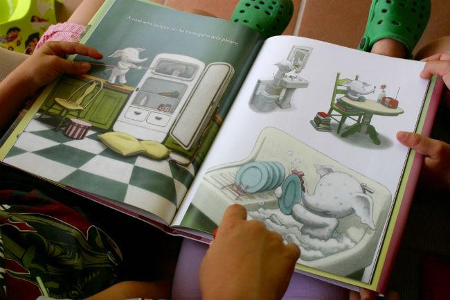 Libro infantil El pequeño Elliot en la gran ciudad