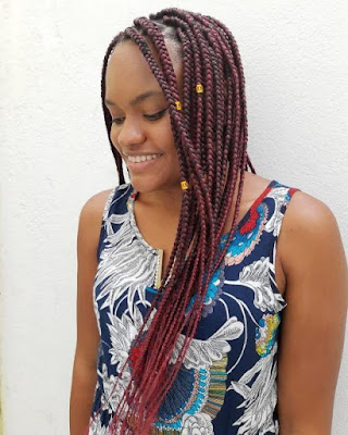 Many braided designs can cause your hair to look unusual 45+ Skinny Feed In Braids Ponytail For Women With Black Hair