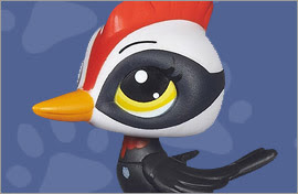 LPS Woodpecker Figures