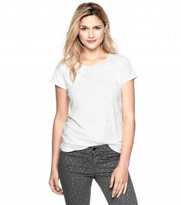 White Tee - fashion essentials for college girls
