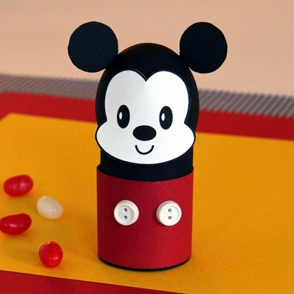 Mickey Mouse Easter Egg