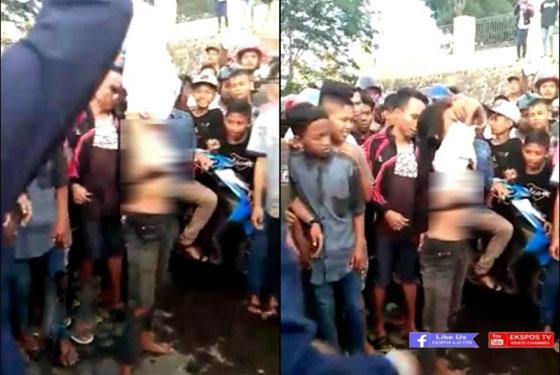 Foto Hot! Cewek ABG Lepas Baju Karena Kalah Balapan Hebohkan Facebook
