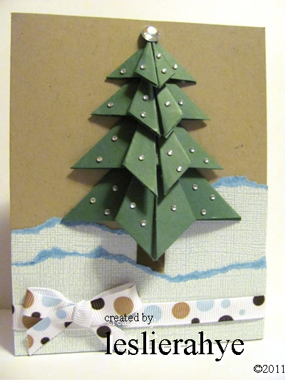 Festive Friday #14 | Origami Tree ~ leslierahye. - photo#28