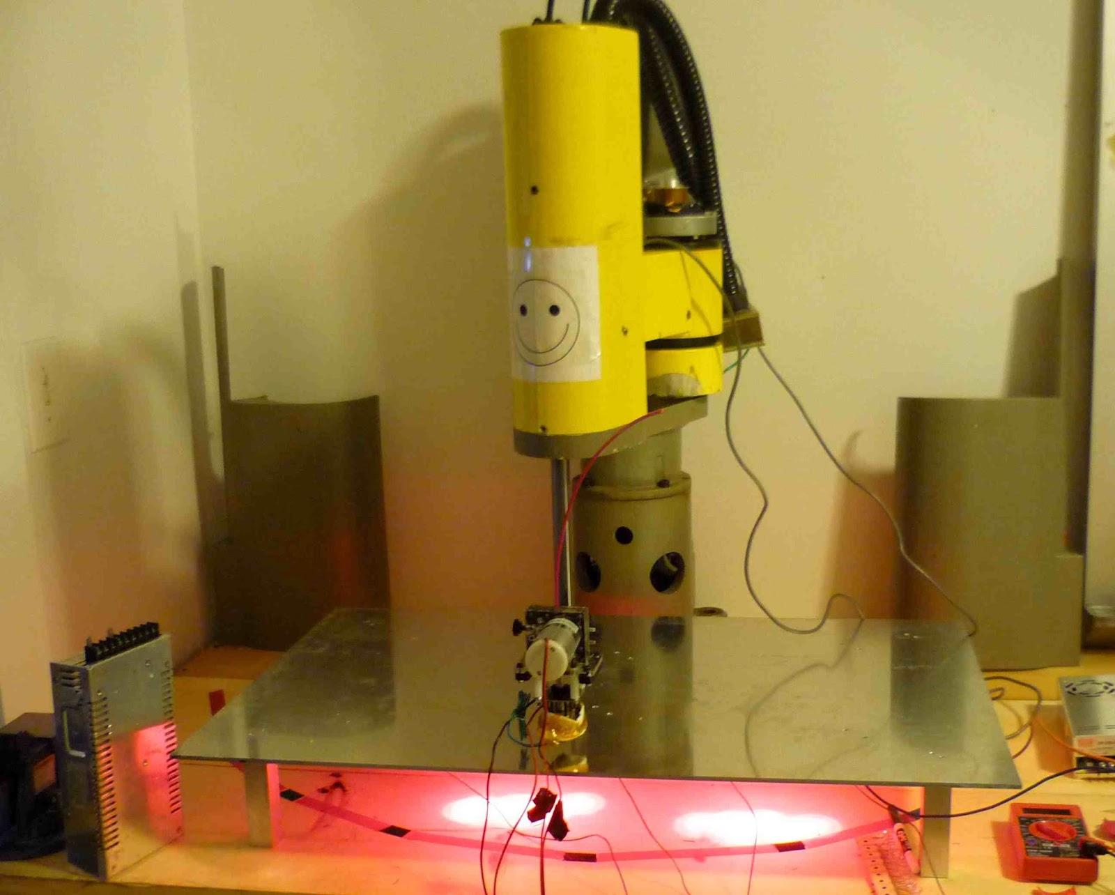 DIY 3D Printing: IBM 7575 Industrial Robot Hacked Into SCARA