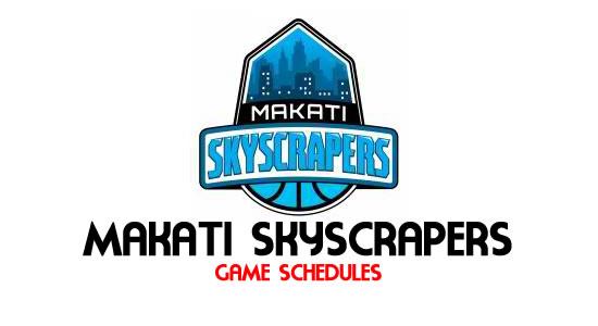 LIST: Game Schedule Makati Skyscrapers 2018 MPBL Anta Datu Cup