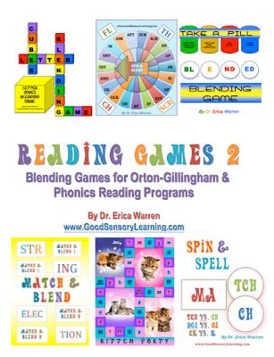 Orton Gillingham based reading games
