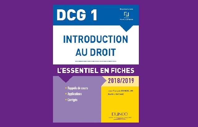 DCG 1 Introduction au Droit PDF
