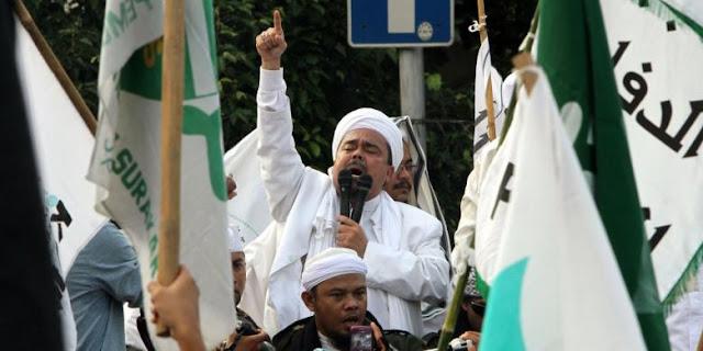 Rizieq: Jumat, Kami Kerahkan Seluruh Anggota FPI untuk Mengepung Istana