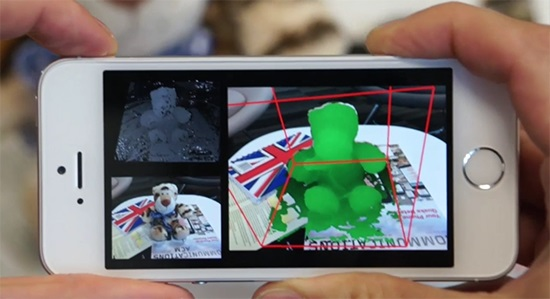 Microsoft's 'MobileFusion' Research project turns Android, iPhone and Windows Phone into 3D scanner