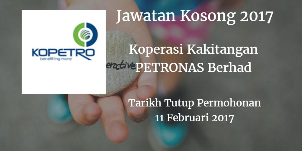 Jawatan Kosong KOPETRO 11 Februari 2017