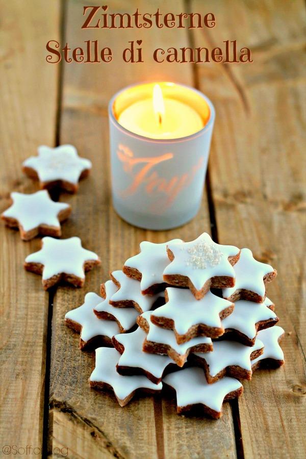 Biscotti Di Natale Zimtsterne.Soffici Zimtsterne Ed E Proprio Natale