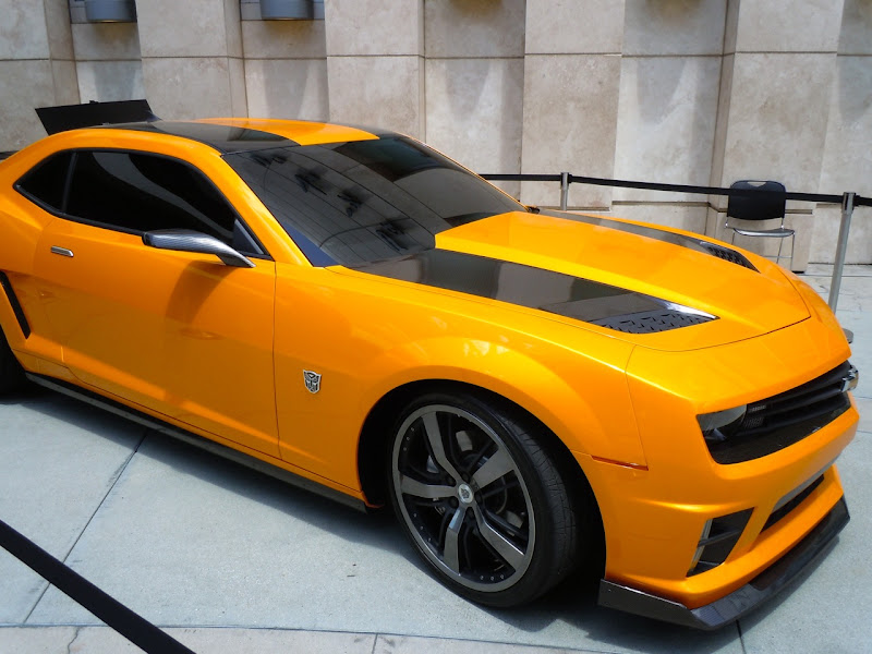 Transformers 3 Bumblebee movie car