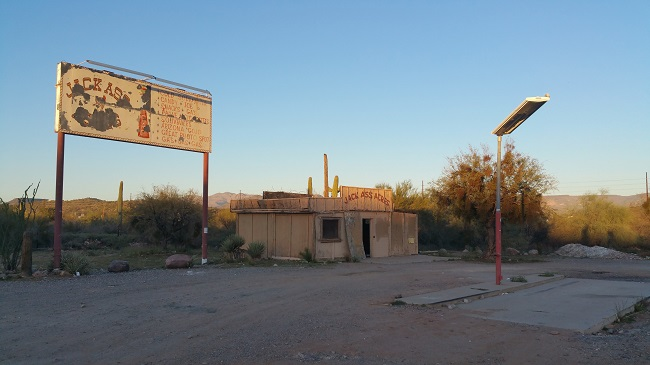 Urban Exploration of Abandoned Jack Ass Acres ruins near Phoenix, Arizona