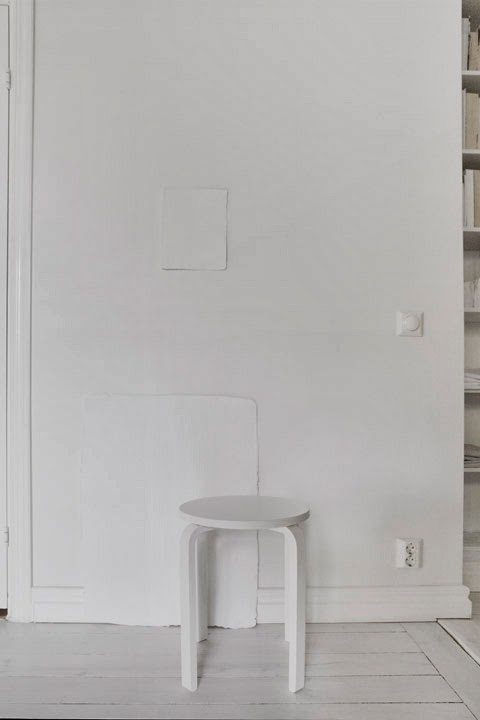 interior en total white