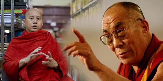 Wirathu dan Dalai Lama