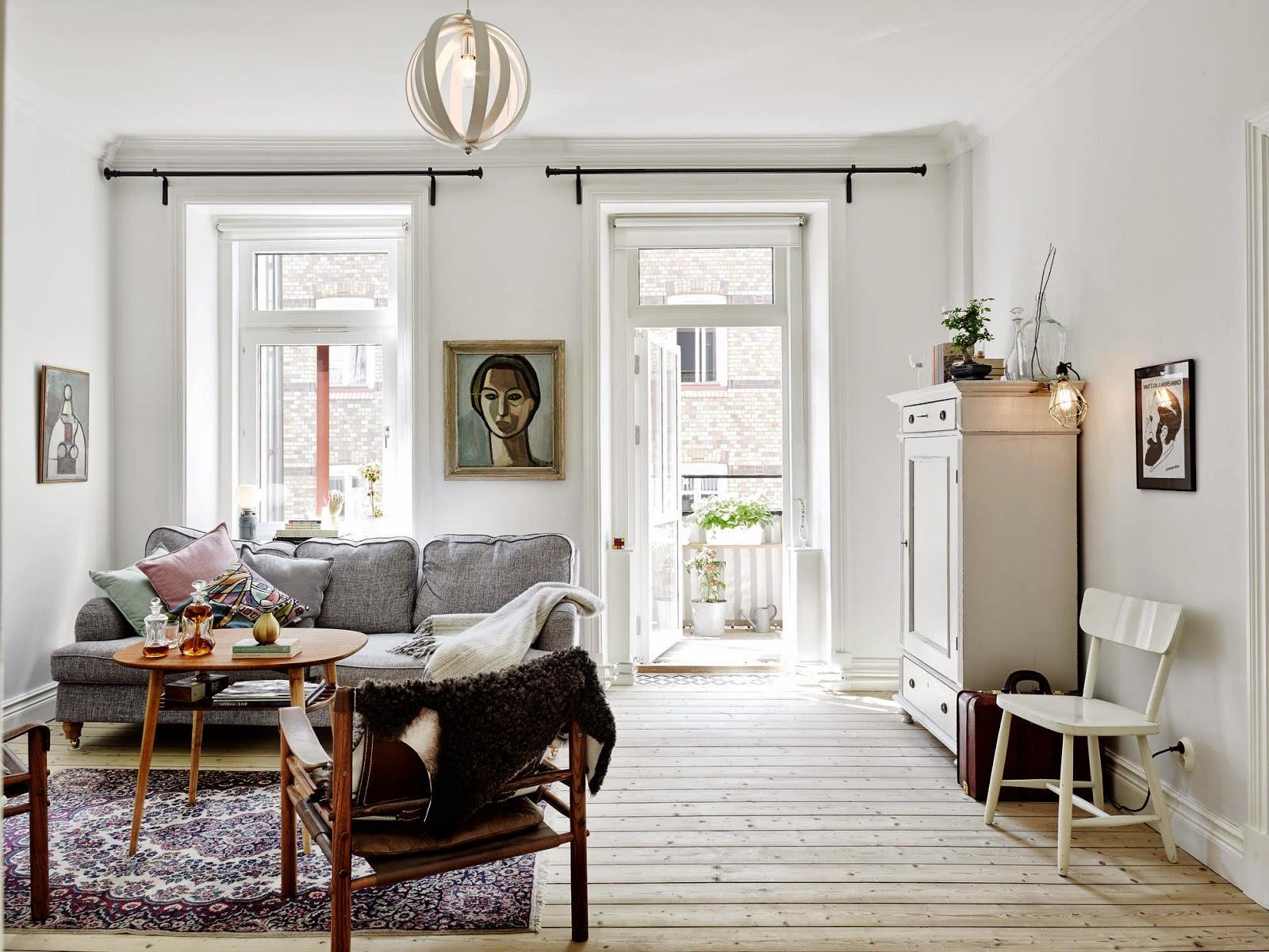Scandinavian Home Fjeldborg Blog: My Scandinavian Home: A Lovely Gothenburg Apartment With