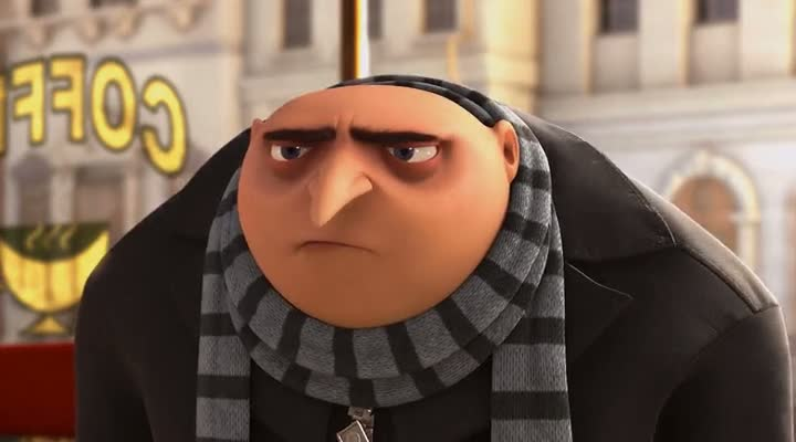 Screen Shot Of Despicable Me (2010) Dual Audio Movie 300MB small Size PC Movie