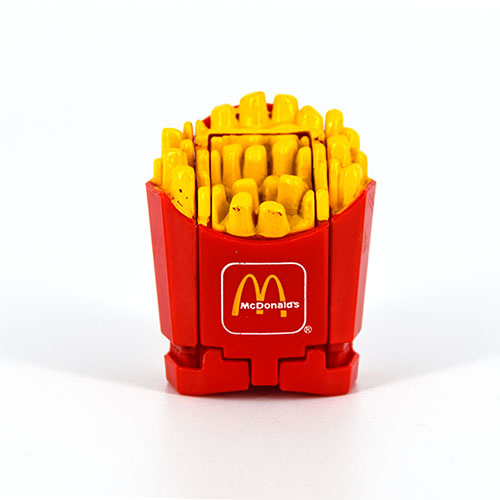 McTransformers 1987 Large Fries Robot 1