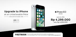 iPhone 5s 16 GB Harga Rp 4.299.000 di Erafone Promo Hingga 2 Oktober 2016