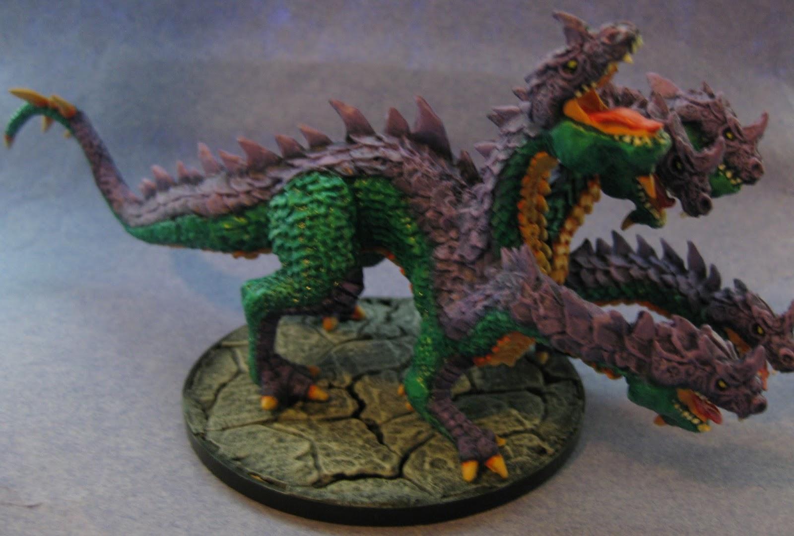 Miniature Painting: Reaper Miniatures Hydra - 77191