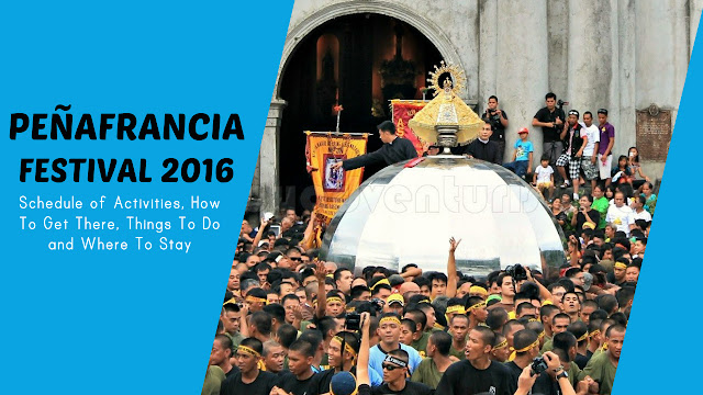 Peñafrancia Festival 2016 in Naga City Schedule