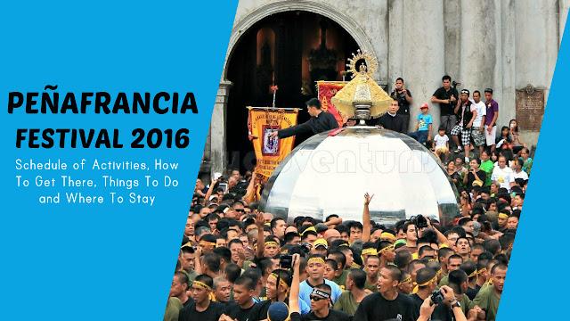 Peñafrancia Festival 2016 in Naga City Schedule
