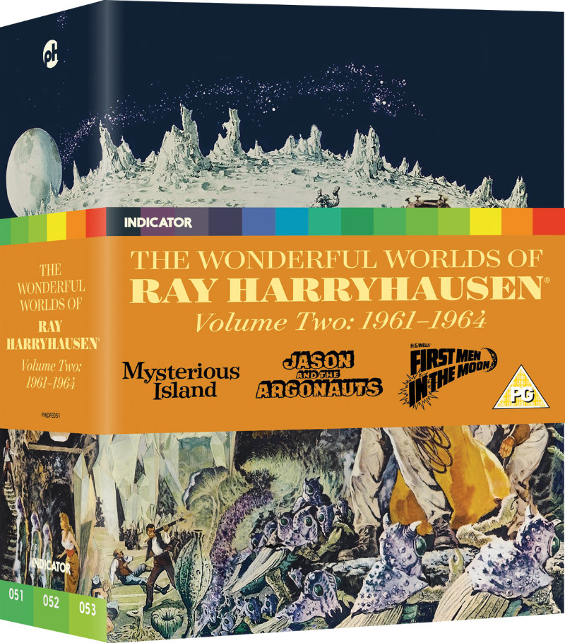 THE WONDERFUL WORLDS OF RAY HARRYHAUSEN: VOLUME TWO (1961-64)