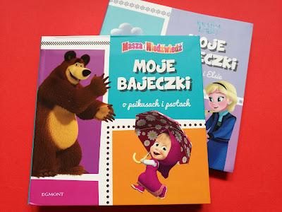 Masza i Niedźwiedź, książka o Maszy, seria Moje bajeczki