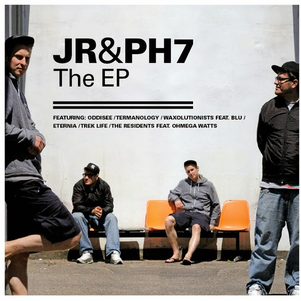 JR & PH7 - The EP Cover