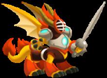 imagen del dragon esgrima de dragon city