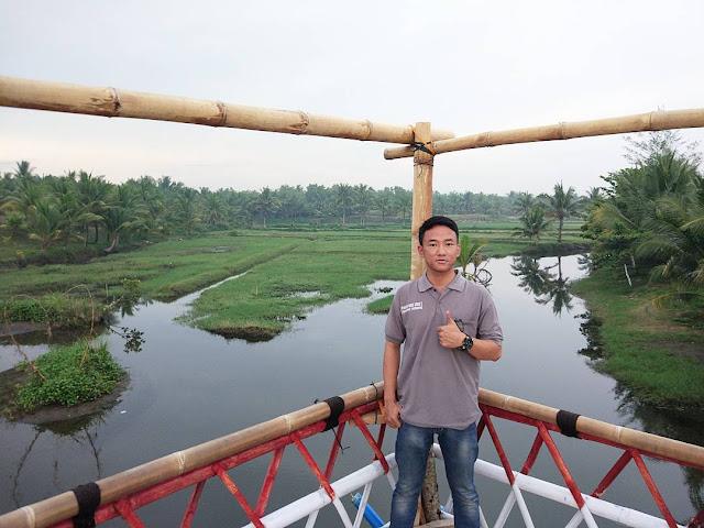 Pantai Laguna Sawangan Puring
