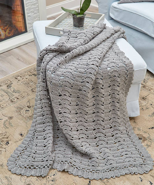 Remembering Bruges Throw - Free Pattern