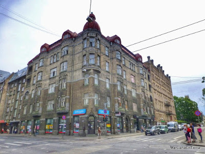 Edificio en nº58 de la calle Brivibas, Riga