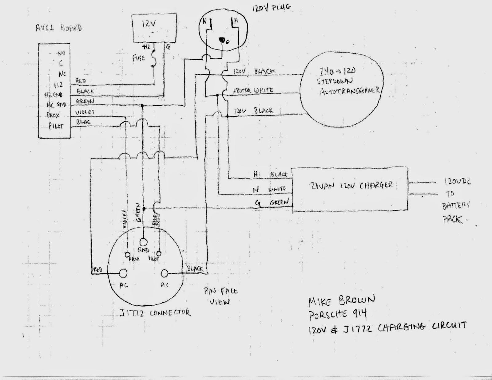 j1772 tesla charger wiring diagram