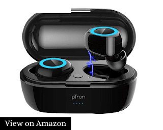 pTron Bassbuds Best Wireless Earphones under 1000 Rs