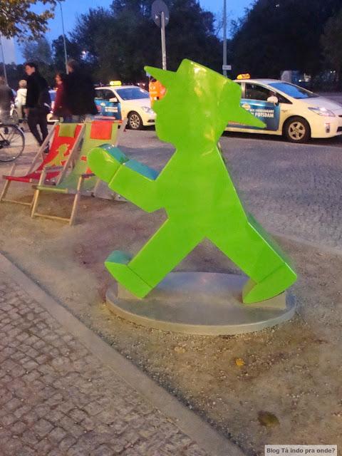 Curiosidades e mistérios de Berlim - Ampelmann