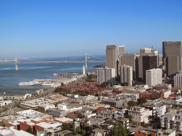 4. Coit Memorial Tower - San Francisco, California, United States - 12 Breathtaking Views From The World's Coolest Towers