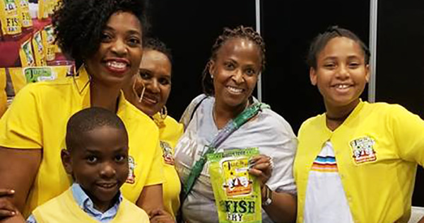 Black family founders of Joe's Gourmet Fish Fry