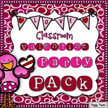Classroom Valentine Party Pack