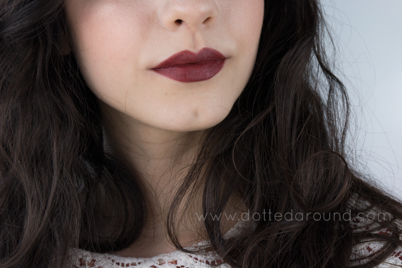 MAC bowl me over lipstick swatches