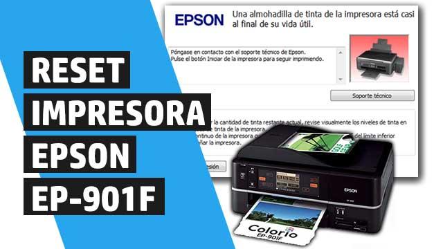 resetear almohadillas impresora Epson EP901F