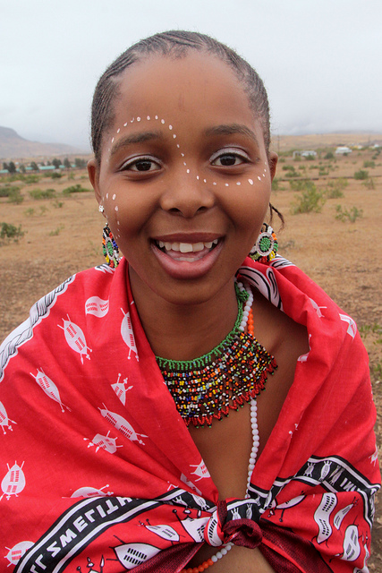 The zulu way of life explained blakkpepper beautiful zulu lady in traditional attire ccuart Image collections