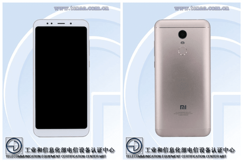 Xiaomi Redmi Note 5 spotted on TENAA?